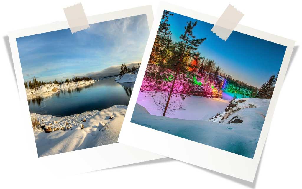 Отдых зимой в России