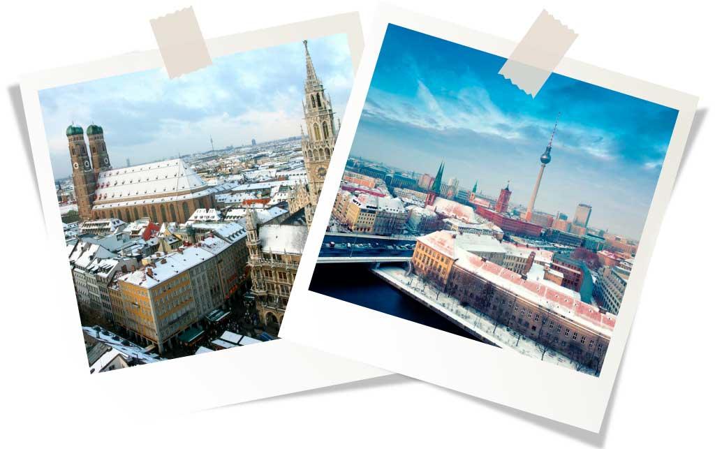 Зимняя германия