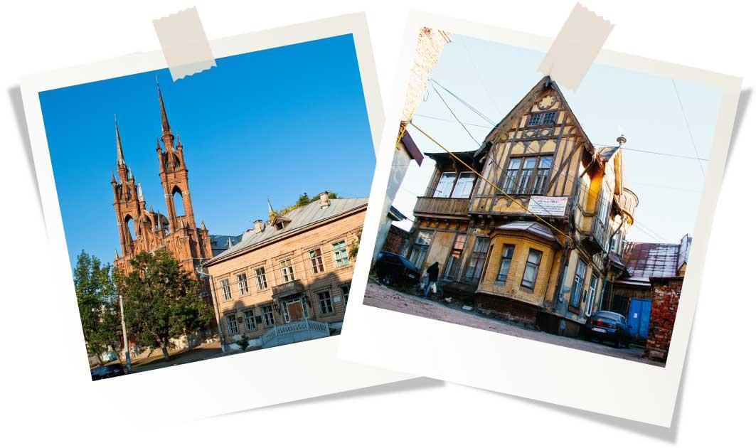 Города России похожие на европейские