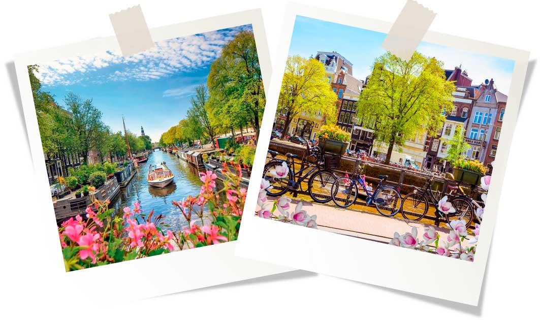Амстердам весной