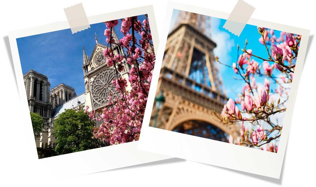 Куда поехать в апреле в Европу
