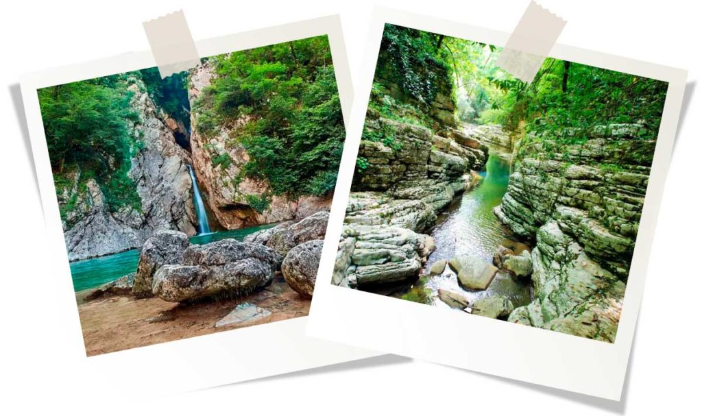 водопады Агурские