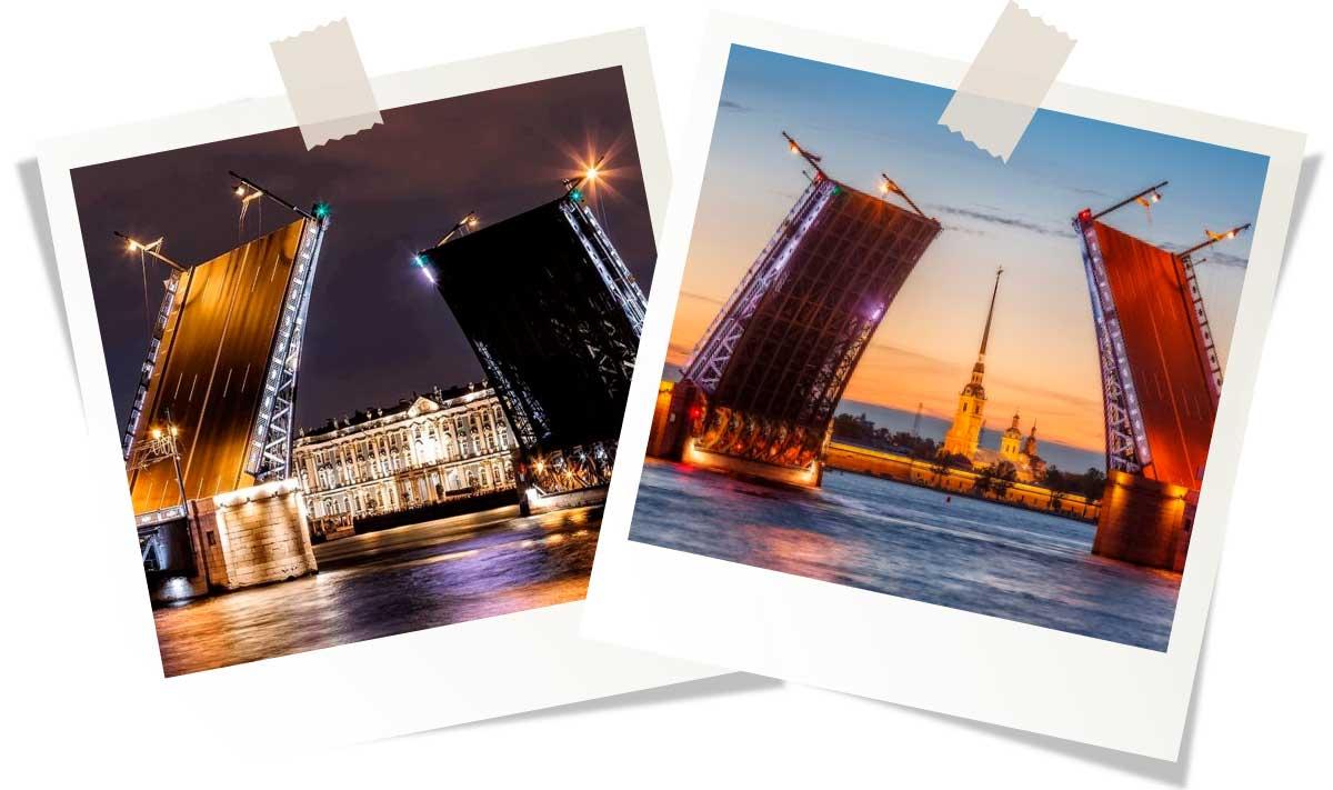 Достопримечательности Санкт-Петербурга: Дворцовый мост