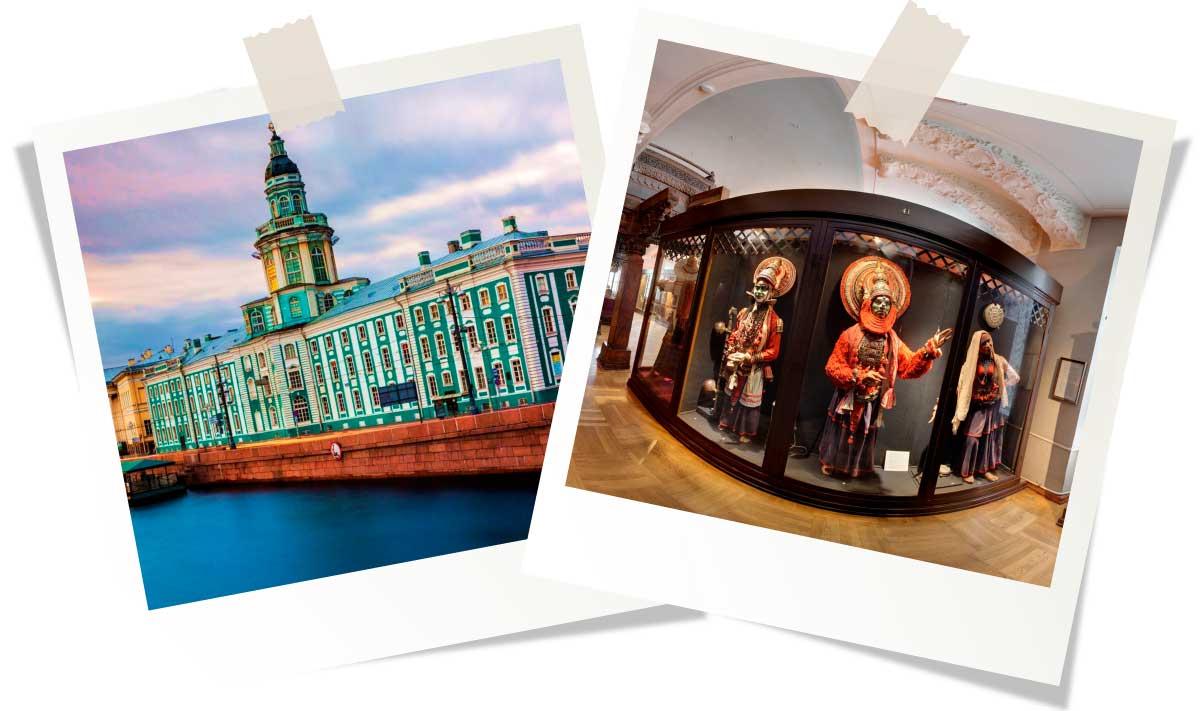 Достопримечательности Санкт-Петербурга: Кунсткамера