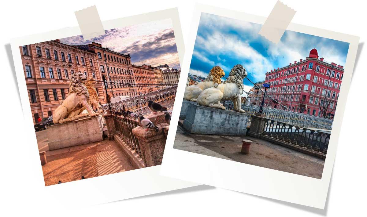 Достопримечательности Санкт-Петербурга: Львиный мост