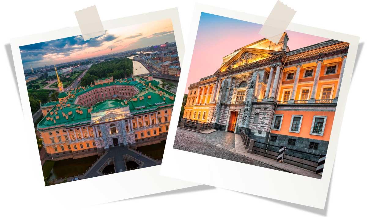 Достопримечательности Санкт-Петербурга: Михайловский замок