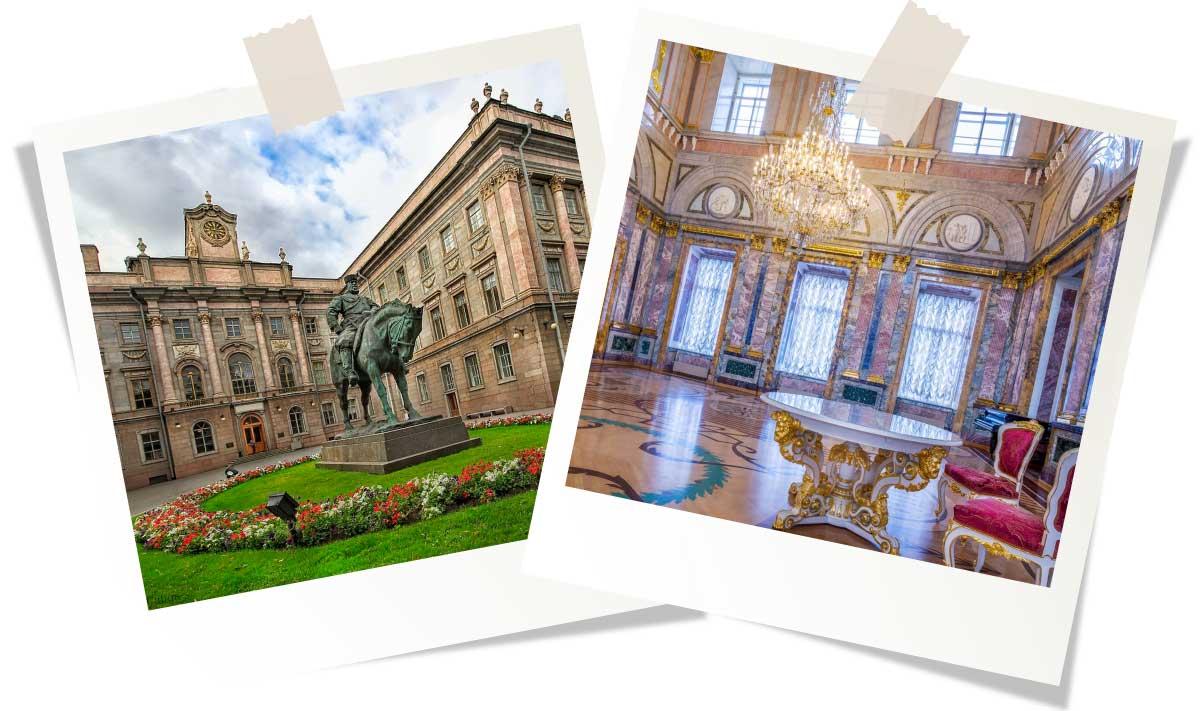 Достопримечательности Санкт-Петербурга: Мраморный дворец