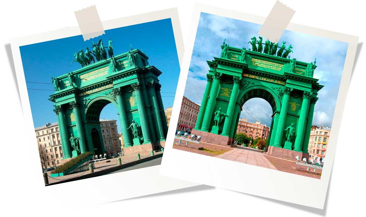 Достопримечательности Санкт-Петербурга: Нарвские ворота