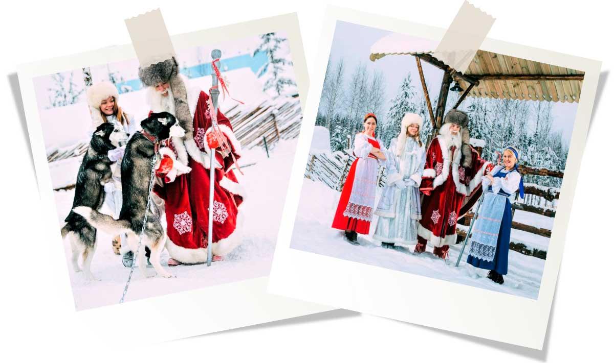 Новый год и Рождество в зимней Карелии