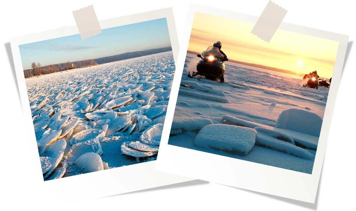 Онежское и Ладожское озера
