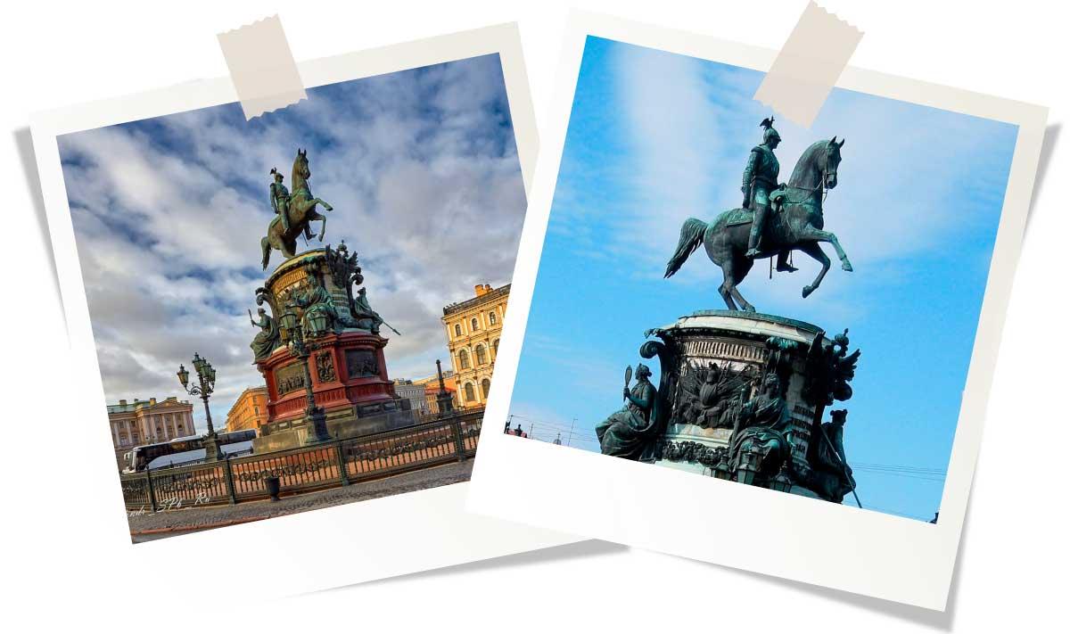 Достопримечательности Санкт-Петербурга: Памятник Николаю I
