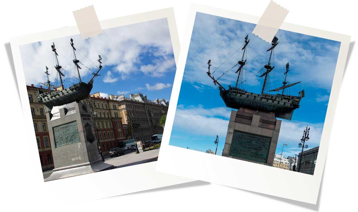 Памятник кораблю «Полтава»