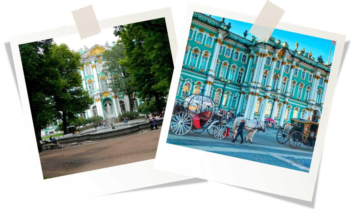 Достопримечательности Санкт-Петербурга: Эрмитаж (Зимний дворец)