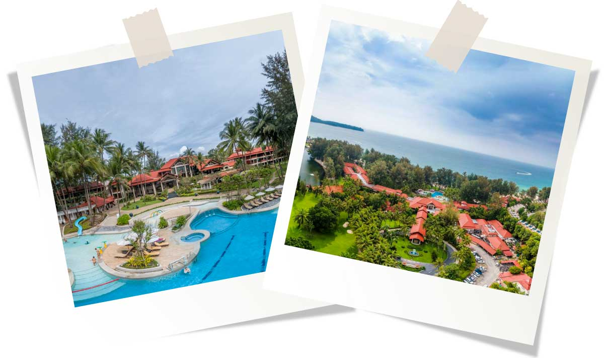 Лучшие отели Пхукета 5 звезд Dusit Thani Laguna Phuket