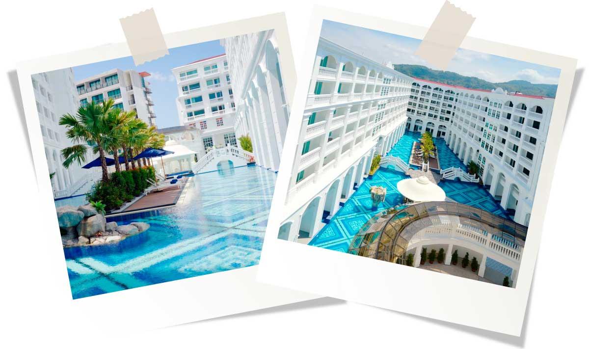 Лучшие отели Пхукета 5 звезд Mövenpick Myth Hotel Patong Phuket