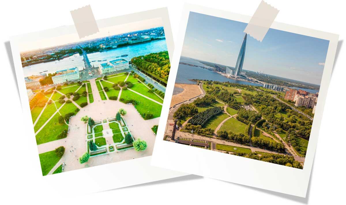 Сады и парки Санкт-Петербурга