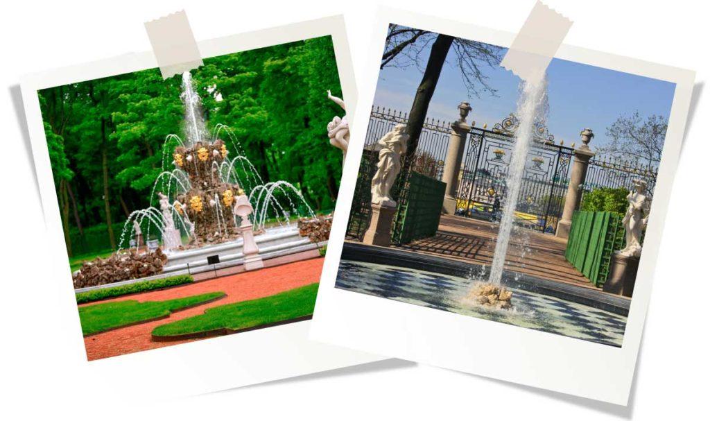 Парки и сады Санкт-Петербурга