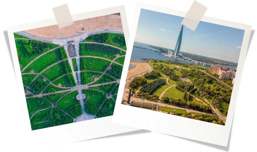 парки Санкт-Петербурга